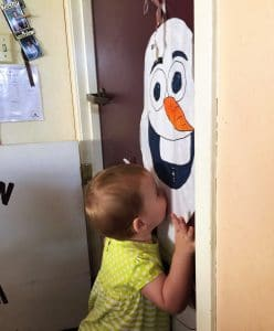 Olaf Hugs and Kiss instead of NO