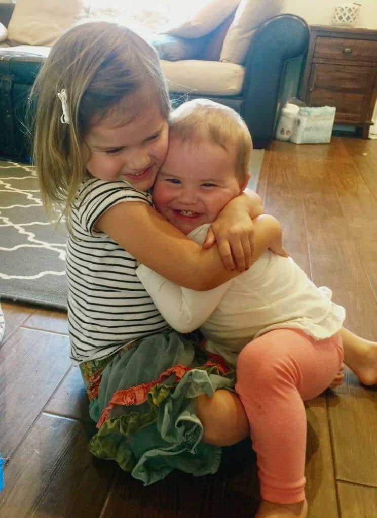 Kids love hugs