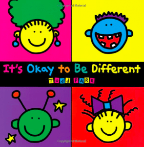 its ok to be different book
