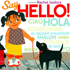 say hello book rachel isadora