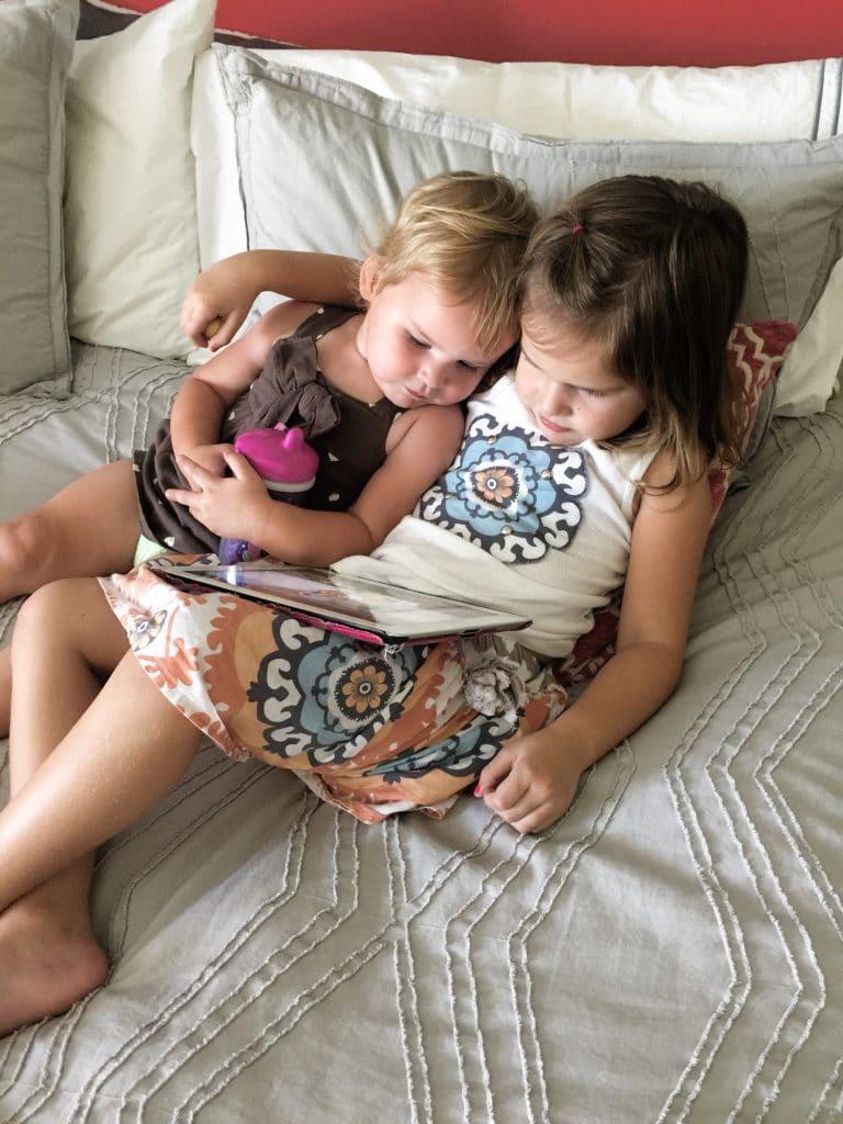 screen time with kids ipad