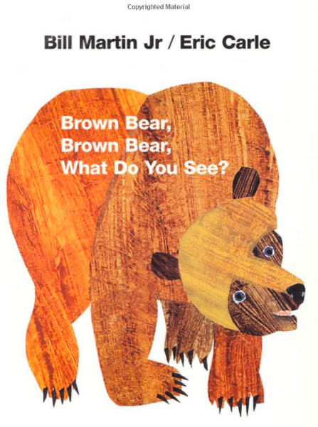 Book Brown Bear, Brown Bear