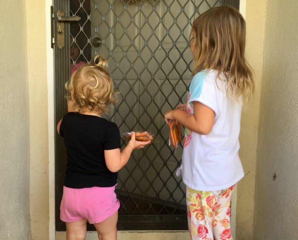 cookies door to door