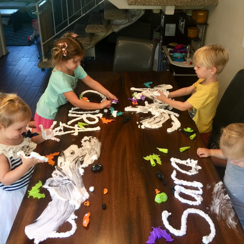 sensory play exploration kids