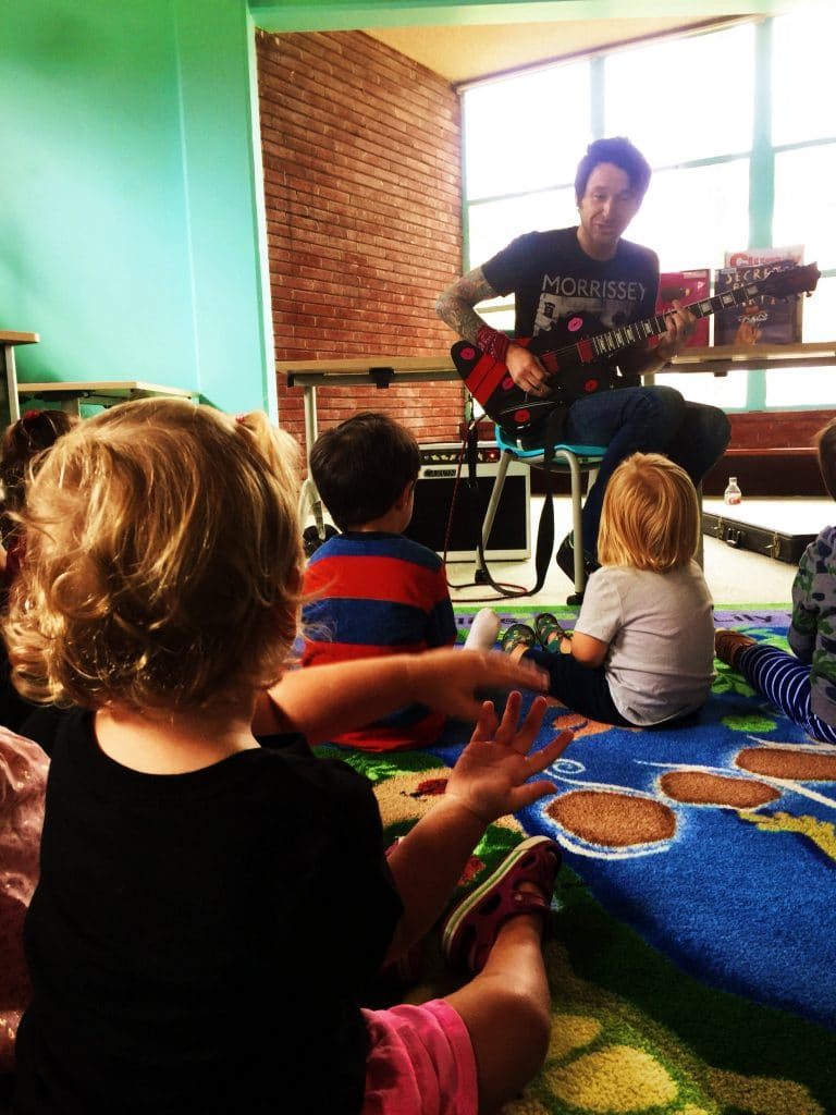 Rock and Roll at the Huntington Beach Library