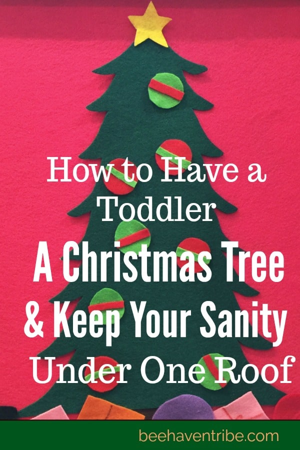 Having a Christmas Tree and Keeping your Sanity